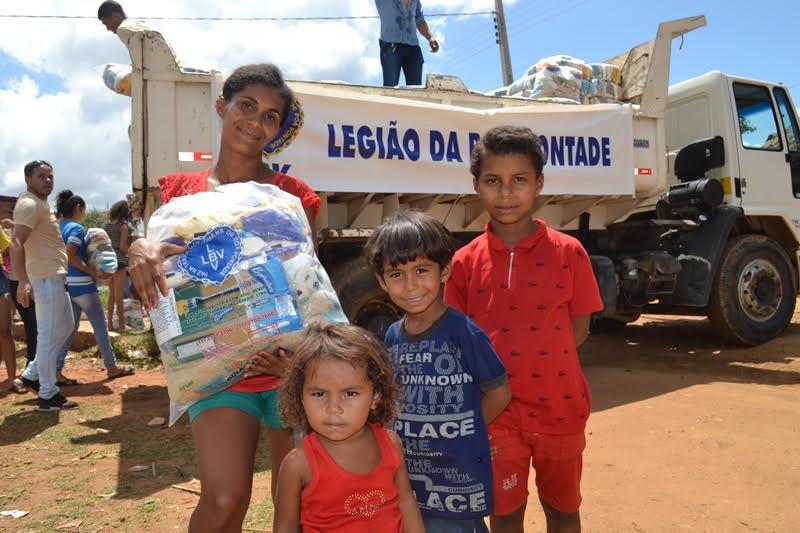 Resultado de imagem para Solidariedade: LBV assiste famílias quilombolas da Paraíba